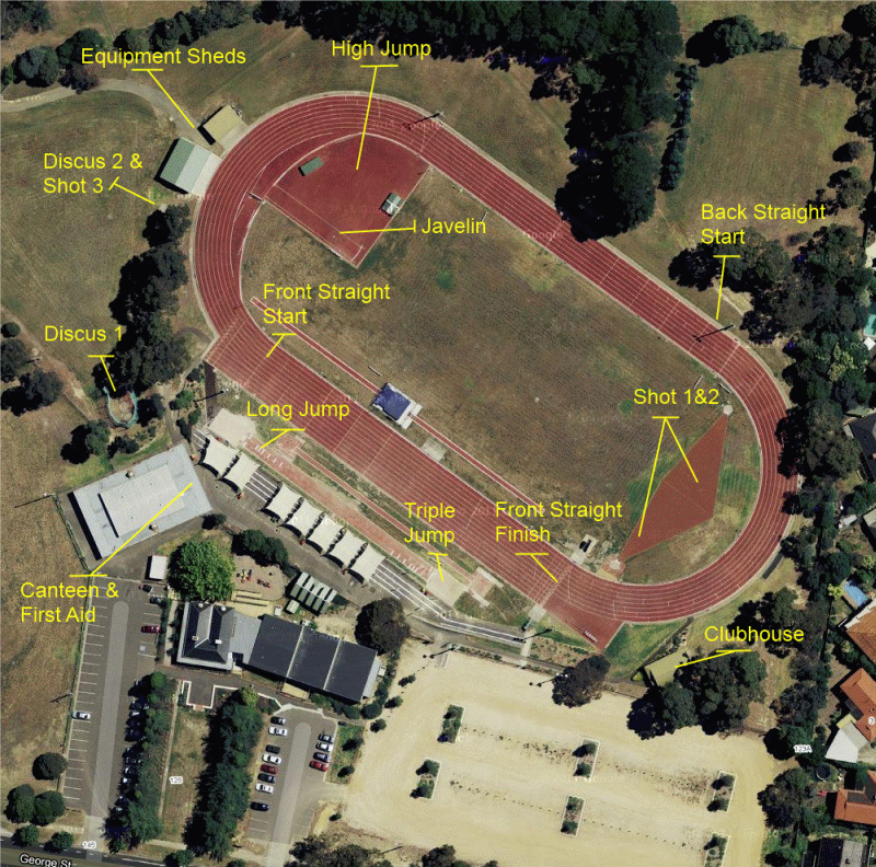 DLAC Track Layout